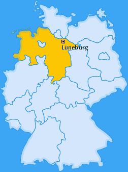 Karte Altstadt Lüneburg
