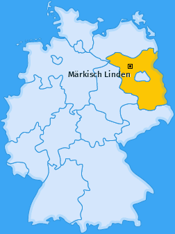 Karte von Märkisch Linden