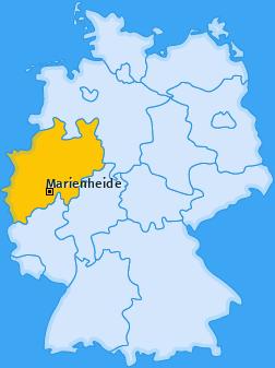 Karte von Marienheide