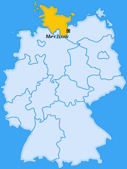 Karte von Mechow