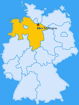 Karte von Mechtersen