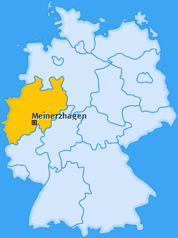 Karte von Meinerzhagen