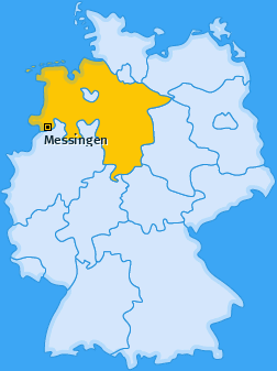 Karte von Messingen