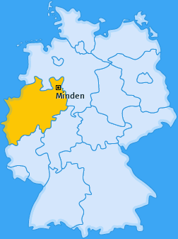 Karte Nordstadt Minden