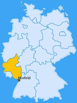 Karte von Minfeld