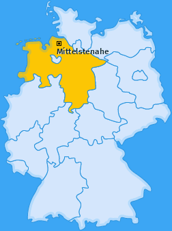 Karte von Mittelstenahe