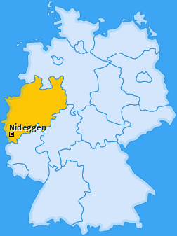 Karte von Nideggen