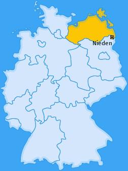 Karte von Nieden