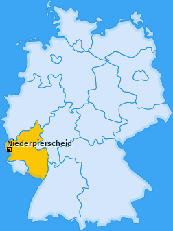 Karte von Niederpierscheid