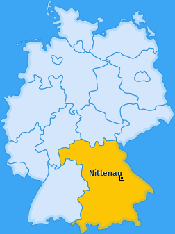 Karte von Nittenau