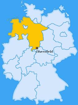 Karte von Obernfeld