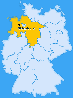 Karte von Oldenburg