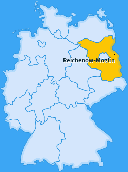 Karte von Reichenow-Möglin