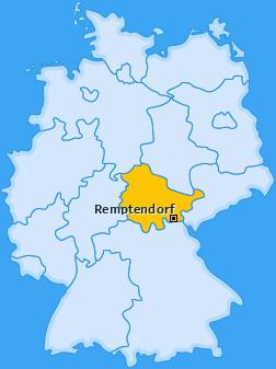 Karte von Remptendorf