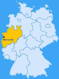 Karte von Rheurdt