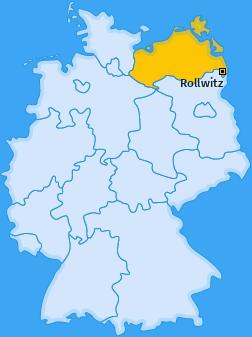 Karte von Rollwitz