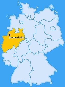 Karte von Rosendahl
