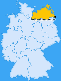 Karte von Rothenklempenow