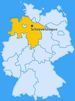 Karte von Schneverdingen
