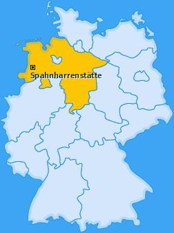 Karte von Spahnharrenstätte