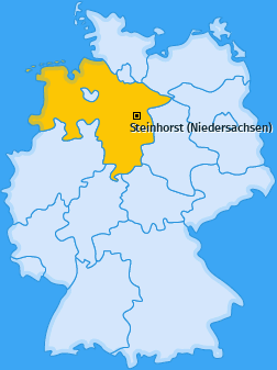 Karte von Steinhorst (Niedersachsen)