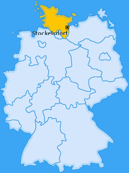 Karte von Stockelsdorf