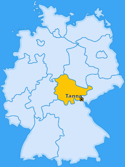 Karte von Tanna