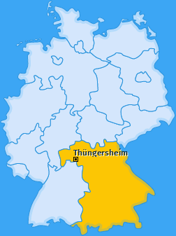 Karte von Thüngersheim