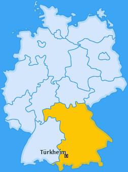 Karte von Türkheim
