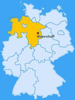Karte von Wagenhoff