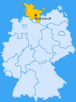 Karte von Wahlstedt