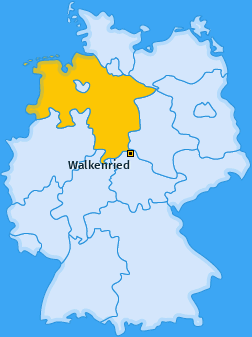 Karte von Wieda