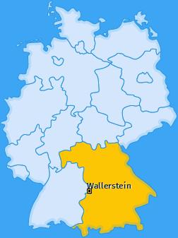 Karte von Wallerstein