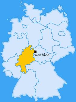 Karte von Wanfried
