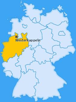 Karte von Westerkappeln