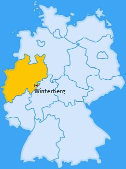 Karte von Winterberg