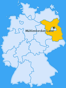 Karte von Mühlenbecker Land
