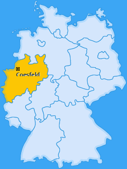 Kreis Coesfeld Landkarte