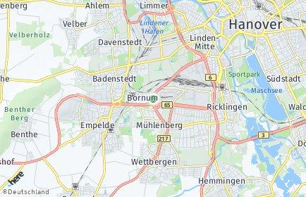 Stadtplan Hannover OT Bornum