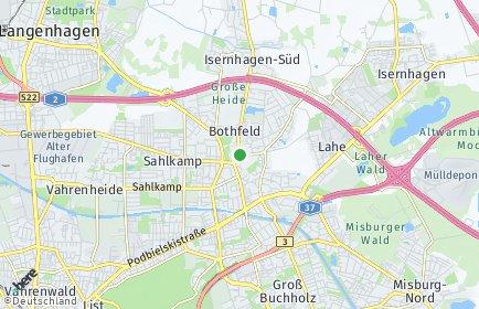 Stadtplan Hannover OT Bothfeld