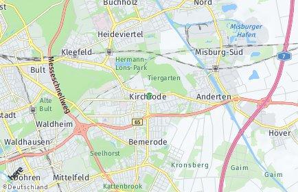 Stadtplan Hannover OT Kirchrode