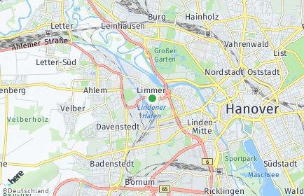 Stadtplan Hannover OT Limmer