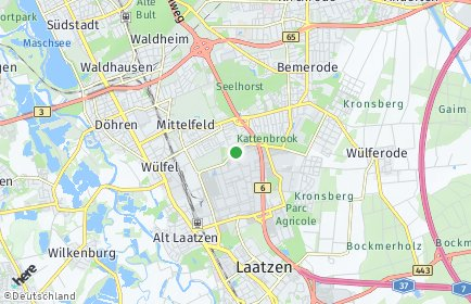 Stadtplan Hannover OT Mittelfeld
