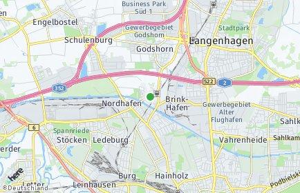 Stadtplan Hannover OT Vinnhorst