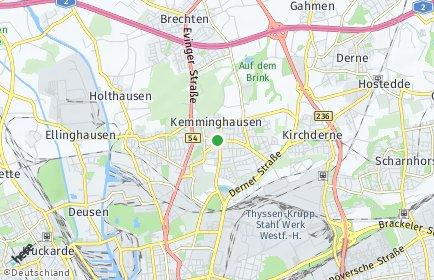 Stadtplan Dortmund OT Eving