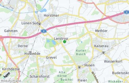 Stadtplan Dortmund OT Lanstrop
