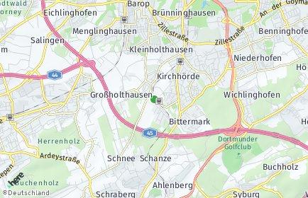 Stadtplan Dortmund OT Löttringhausen