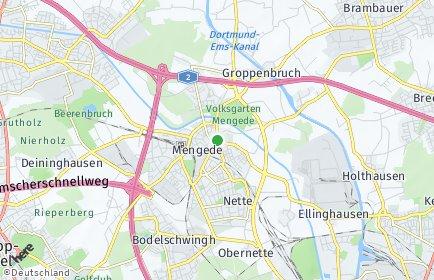 Stadtplan Dortmund OT Mengede