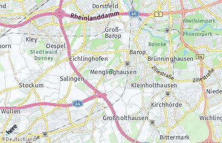 Stadtplan Dortmund OT Menglinghausen