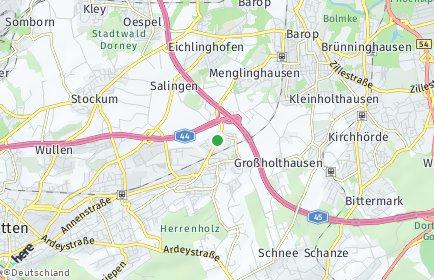 Stadtplan Dortmund OT Persebeck